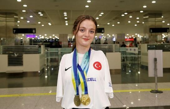 Türkiye'nin gururu: Sümeyye Boyacı