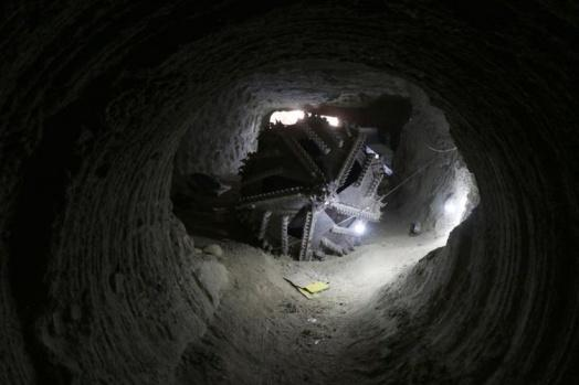 Afrin'de bulundu! Bakın tünelleri nasıl kazmışlar