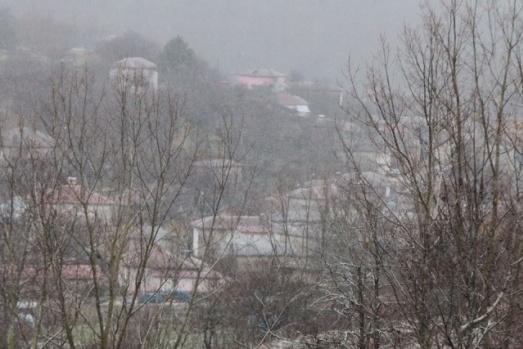 İlk kar düştü!