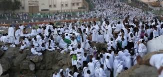 Hacı adayları Arafat yolunda!
