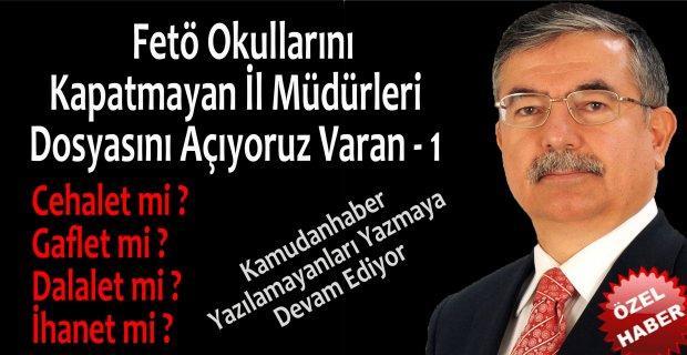 Kırıkkale Milli Eğitim Müdürlüğü Fetö Okulunu Neden Kapatmadı ?