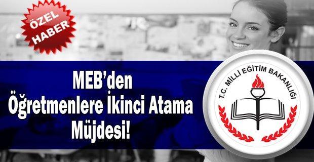 MEB'den Öğretmenlere İkinci Atama Müjdesi!