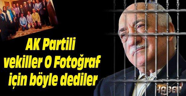 AK Partili vekiller O Fotoğraf için böyle dediler: İzin aldık