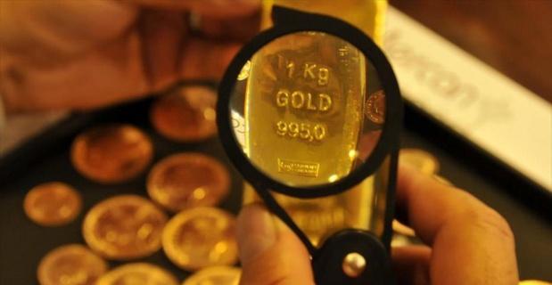 Altının kilogramı 127 bin 700 liraya geriledi