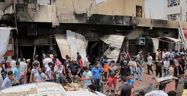 Bağdat'ta canlı bomba saldırısı: 8 ölü, 20 yaralı