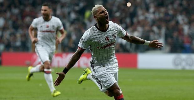 Beşiktaş'ın yıldızı Şampiyonlar Ligi'nde haftanın futbolcusu seçildi