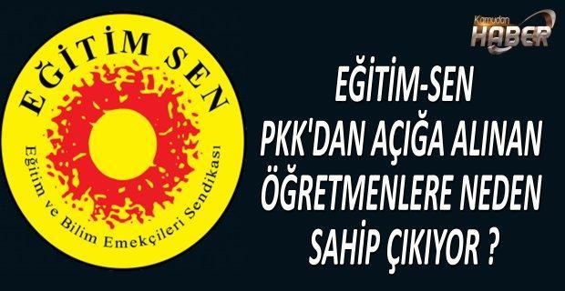 EĞİTİMSEN PKK'DAN AÇIĞA ALINAN ÖĞRETMENLERİN KİM OLDUĞUNU BİLİYOR MU ?