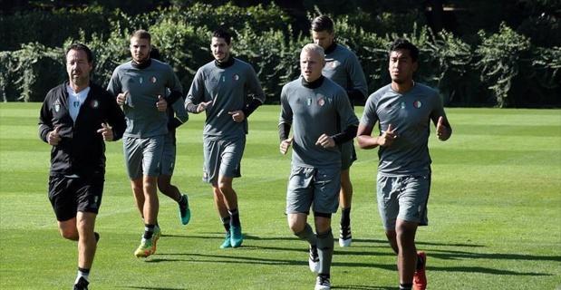 Feyenoord Fenerbahçe Can Bartu Tesisleri'nde çalıştı