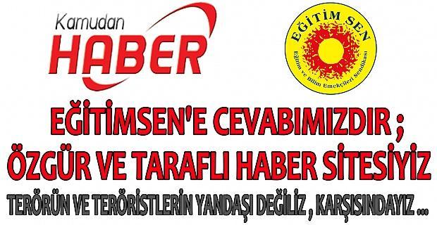 KAMUDANHABER SİTEMİZİN EĞİTİMSEN'E CEVABI ...