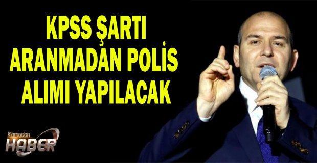 KPSS şartı aranmadan 20 Bin polis alımı yapılacak