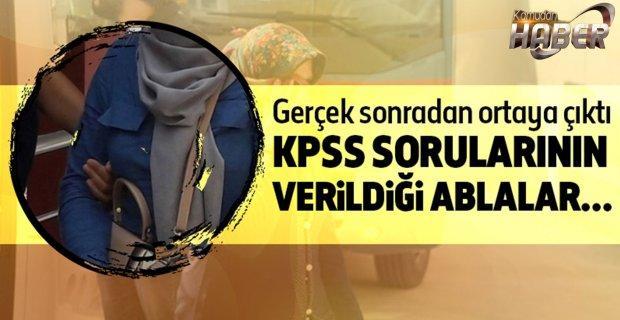 KPSS sorularının verildiği ablalar askerlerle evlendirilmiş!