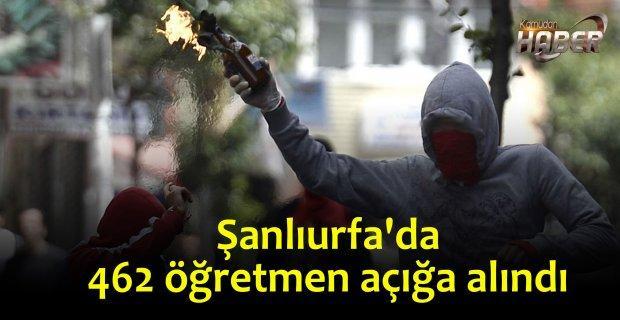 Şanlıurfa'da PKK terör destekcisi 462 öğretmen açığa alındı