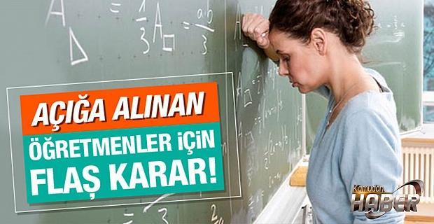 153 öğretmen görevine iade edildi