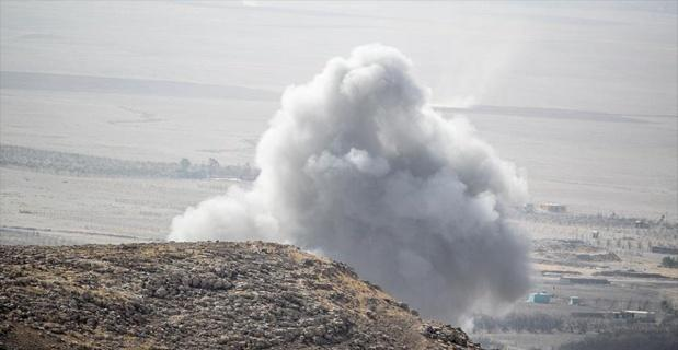 ABD topçu birlikleri Musul'da ilk defa DEAŞ hedeflerini vurmaya başladı