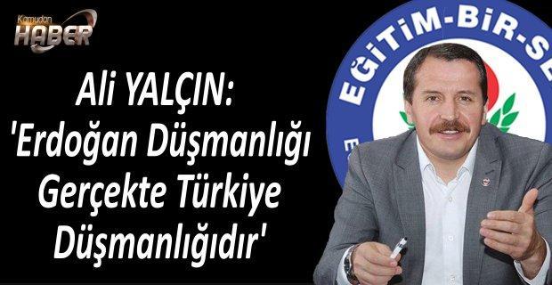 Ali YALÇIN: 'Erdoğan Düşmanlığı Gerçekte Türkiye Düşmanlığıdır'