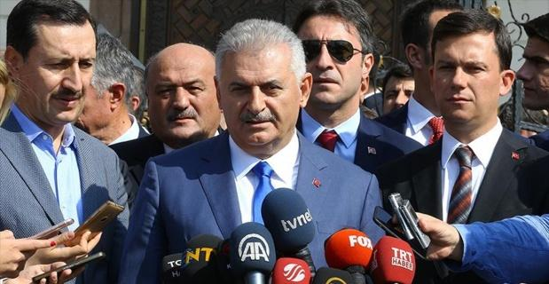 Başbakan Yıldırım: Bağdat'ın açıklamaları fevkalade tehlikeli ve kışkırtıcı