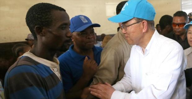 BM'den Haiti'ye yardım sözü