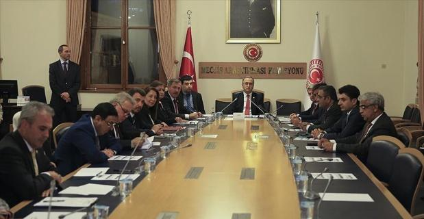 FETÖ darbe girişimini araştırma komisyonu ilk toplantısını yaptı