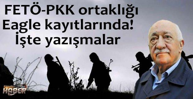 FETÖ-PKK ortaklığı Eagle kayıtlarında! İşte yazışmalar