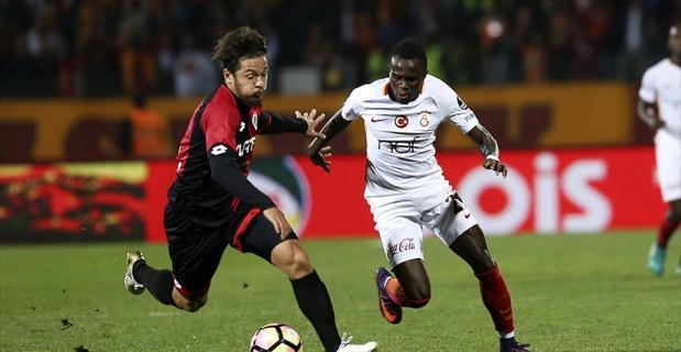 Galatasaray tek golle güldü