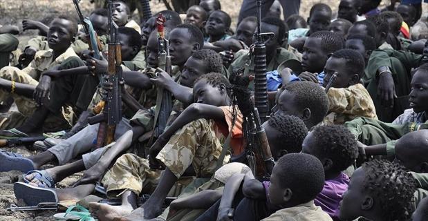 Güney Sudan'da 145 çocuk serbest bırakıldı