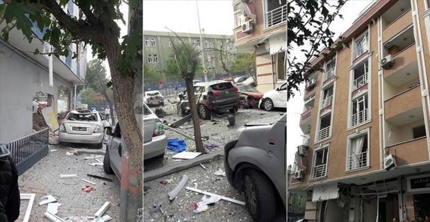 İstanbul'da terör saldırısı: 5 yaralı