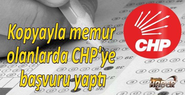 Kopyayla memur olanlarda CHP'ye başvuru yaptı
