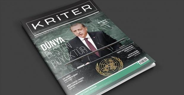 Kriter dergisinin ekim sayısı çıktı