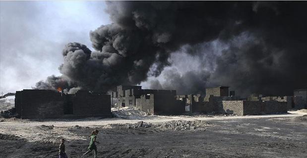 Musul'da zehirli gaz can aldı: 3 ölü