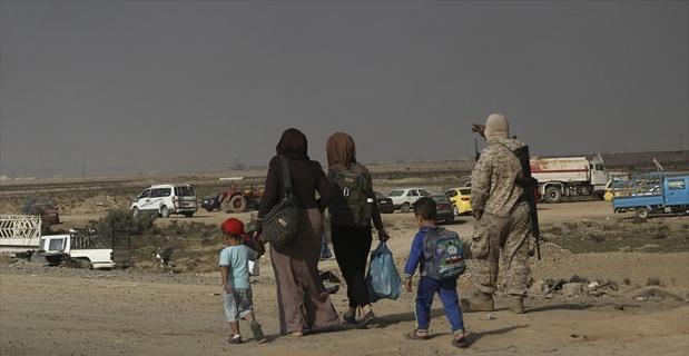Musul'un güneyindeki köylerden sivil göç devam ediyor