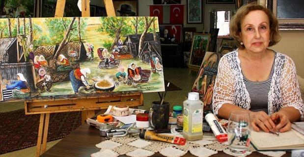 Osmanlı'yı kitaplardan resmetti
