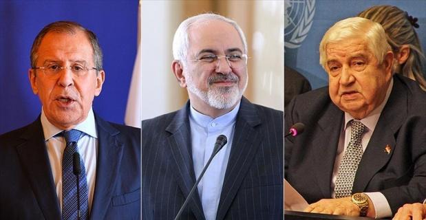 Rusya, Suriye ve İran dışişleri bakanları Moskova'da görüşecek