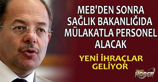 Sağlık Bakanı Akdağ'dan FETÖ ihraçları ve personel alımına yönelik açıklama