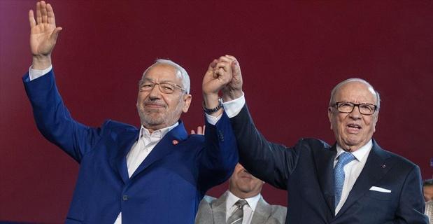 Tunus'ta siyasetin zirvesinden uzlaşı mesajları