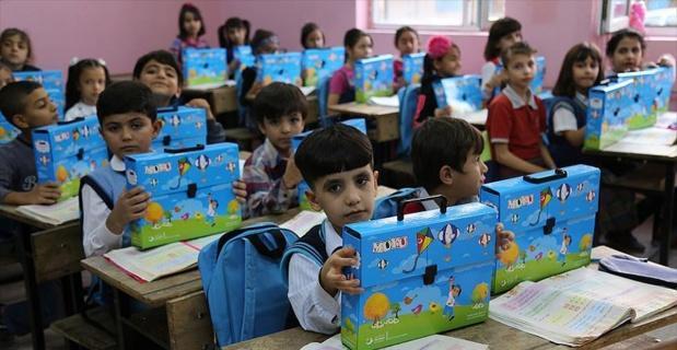 Türkiye'de öğrenim gören Suriyeli öğrenci sayısı 450 bini geçti
