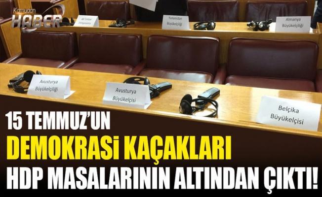 15 Temmuz'un kayıp ülkeleri HDP grubunda ortaya çıktı!