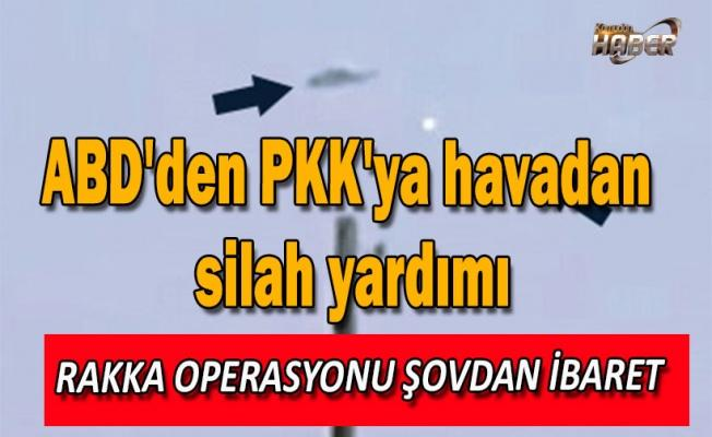 ABD'den PKK'ya havadan silah yardımı