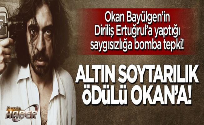 'Altın soytarı' ödülü Okan Bayülgen'e!