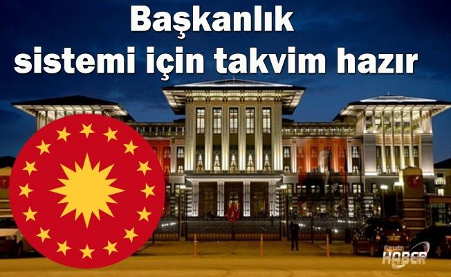Başkanlık sistemi için AK Parti sahaya iniyor.