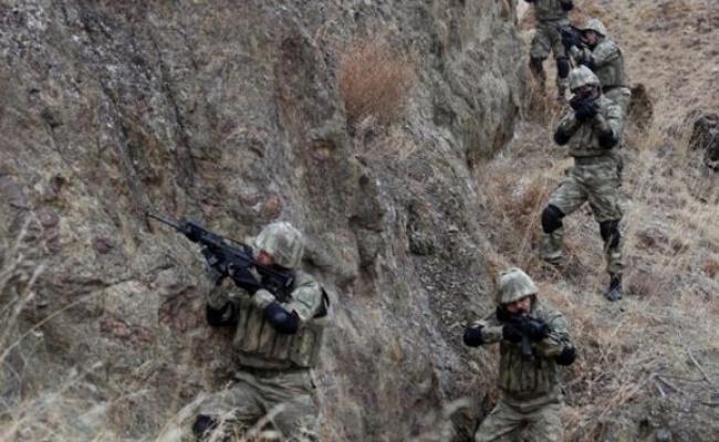 Cudi Dağında inlerine girildi.14 terörist etkisiz hale getirildi