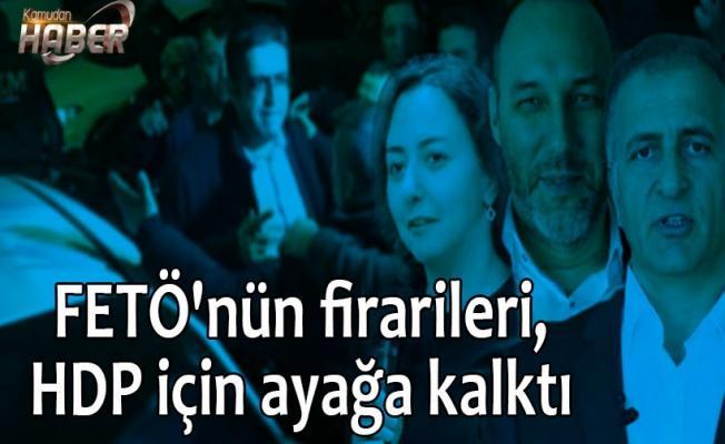 FETÖ'nün firarileri, HDP için ayağa kalktı