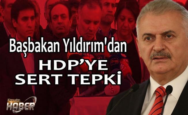 HDP'nin 'Meclis kararına' Başbakan'dan tepki...