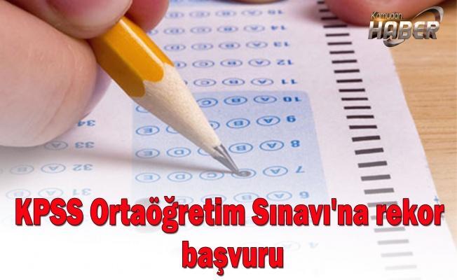 KPSS Ortaöğretim Sınavı'na rekor başvuru