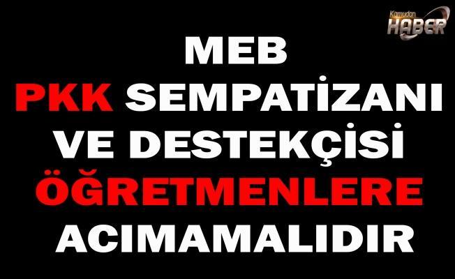 MEB, MÜFETTİŞ RAPORUNA RAĞMEN PKK DESTEKÇİSİ ÖĞRETMENLERİN YERİNİ NEDEN DEĞİŞTİRMİYOR