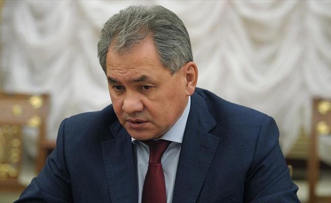 Rusya Savunma Bakanı Şoygu'dan 'Suriye'deki huzur ortamı' açıklaması