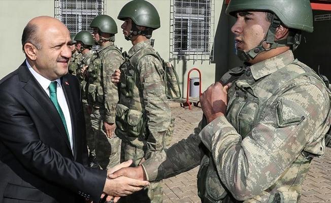 'Sınırın sıfır noktasındaki hudut birliklerinde önemli çalışmalar yürütülüyor'