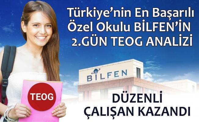 TEOG Sınavlarının 2.Gün Değerlendirmesini Türkiye'nin En Başarılı Özel Okulu Bilfen Okullarının Uzmanları Yaptı