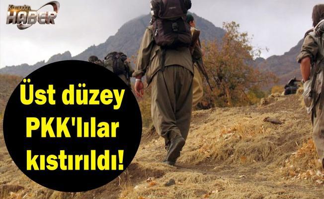 Üst düzey PKK'lılar kıstırıldı!