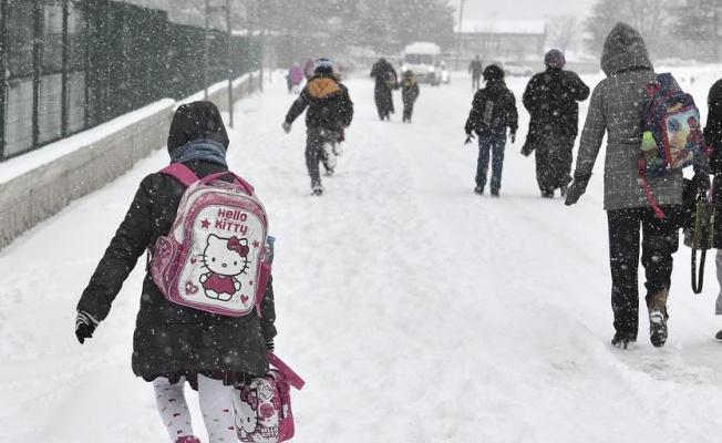 30 Aralık Cuma Ankara'da okullar tatil Edildi.