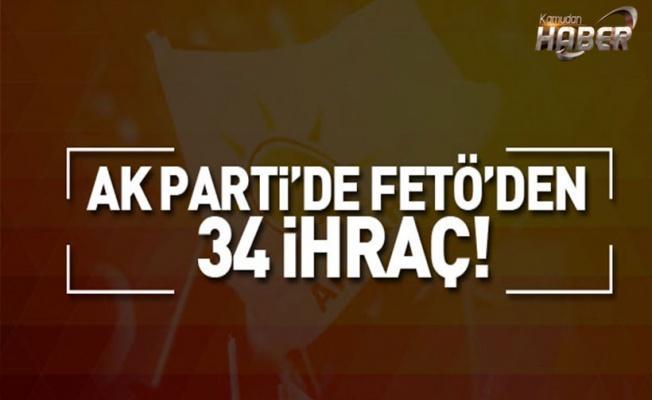 AK Parti'de FETÖ'den kaç kişi  ihraç edildi ?